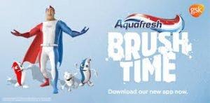 Aquafresh Brush Time tooth brushing app